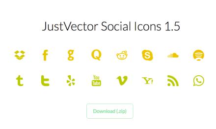 Free Vector Social Media Icons Set