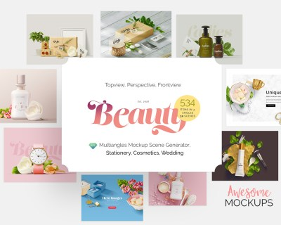beauty mockup free sample