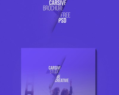 carsive 18 pages brochures template free psd