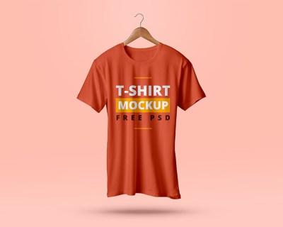 free-t-shirt-psd-mockup