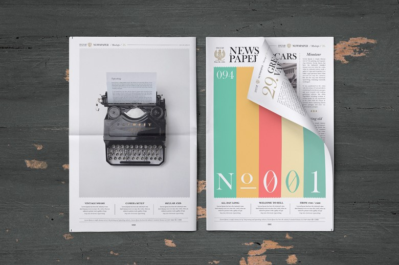 newspaper mockup pune design studio 01