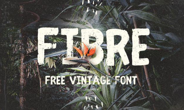 Fibre Free Vintage Font