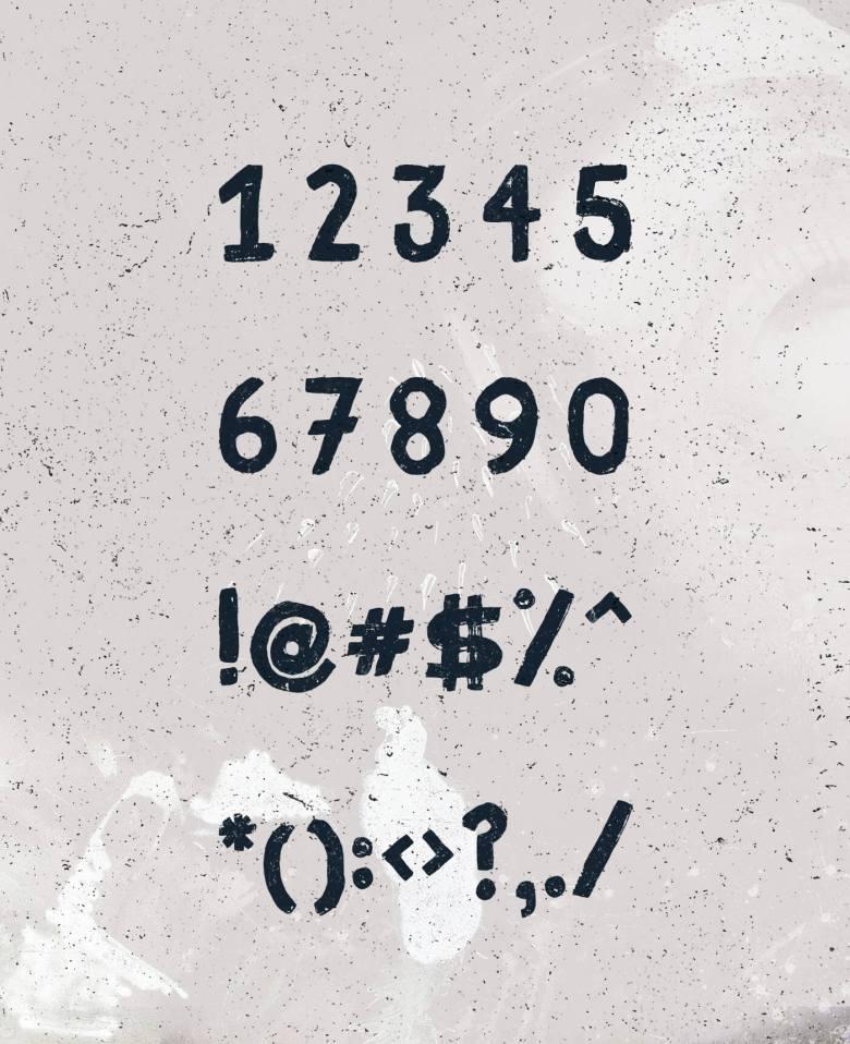 Fibre Free Vintage Font 03