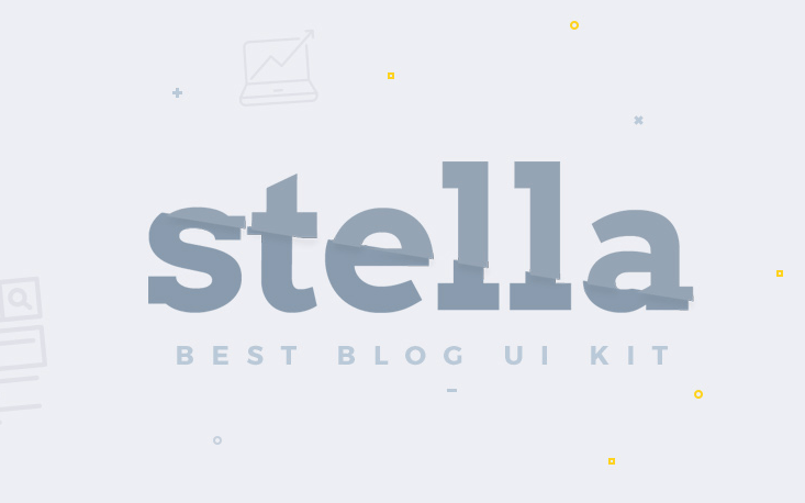 Stella Blog Free UI Kit