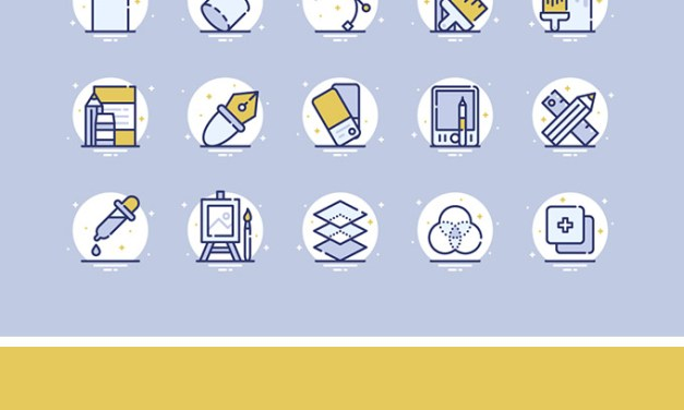 25 Design & Shapes Icons