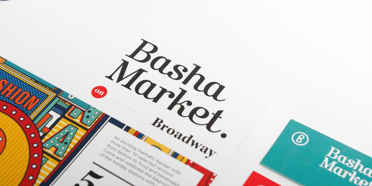 Basha Market on Broadway Identity & Creative Direction