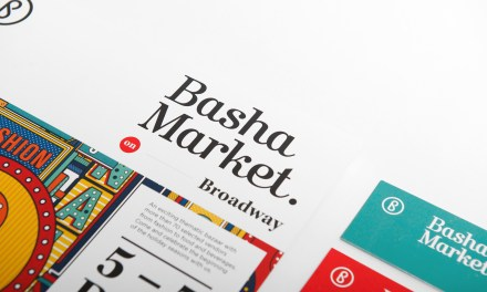 Basha Market on Broadway Identity & Creative Direction