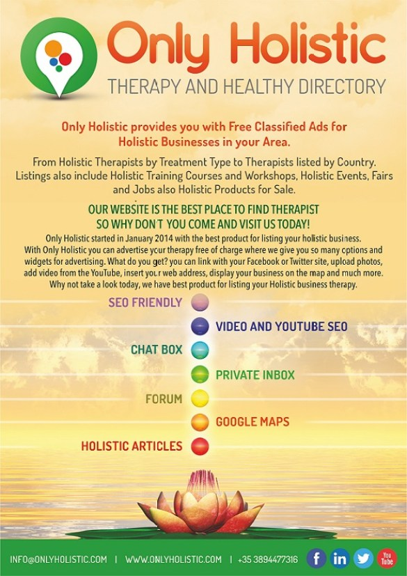 Only Holistic therapy directory
