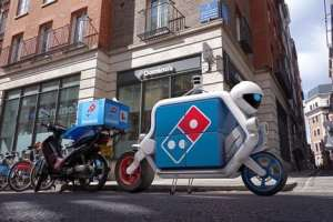 Dominos self driving driverless delivery