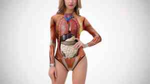 anatomy model swimsuit
