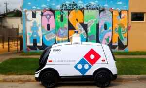 Driverless Pizza Delivery Vehicles