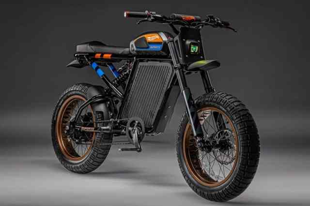 Hot Wheels x SUPER73-RX electric motorcycle