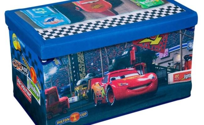 Disney Pixar S Cars Fabric Toy Box