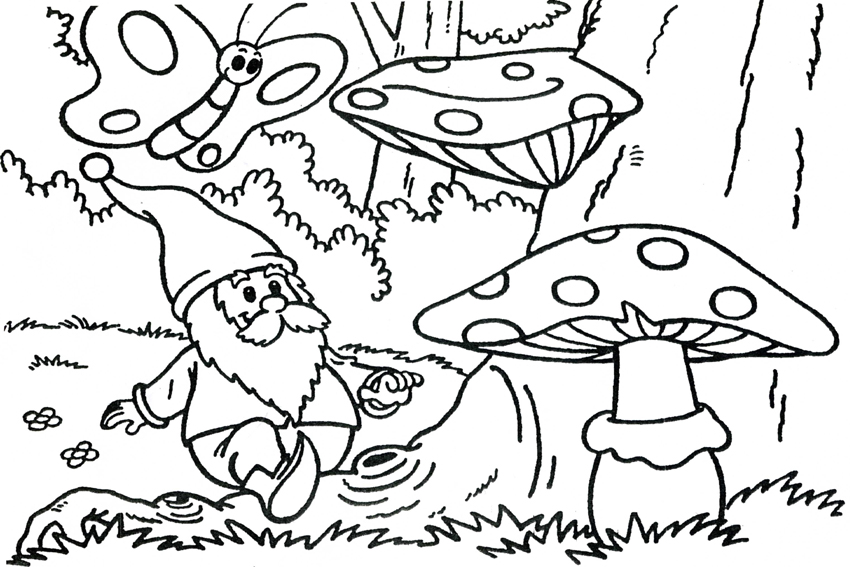 Printable Pages Autum Coloring