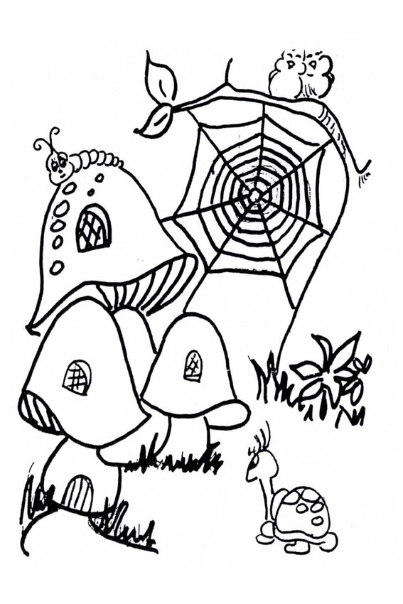 Autumn coloring pages to color in when it's wet outside