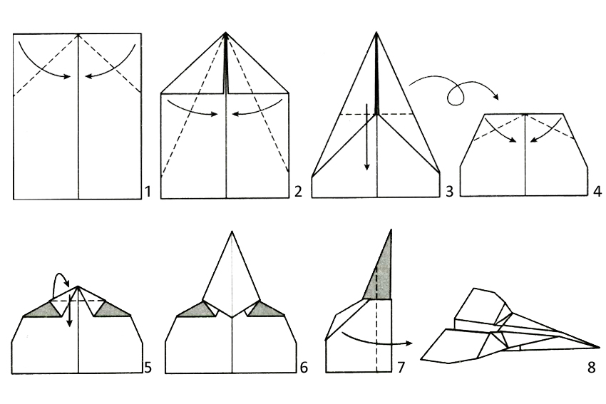Paper Airplane Template Images About Paper Airplanes On Pinterest