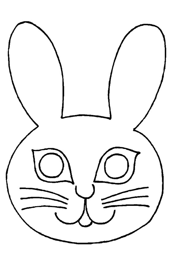 Color in a bunnies coloring page in stead of buying some pets