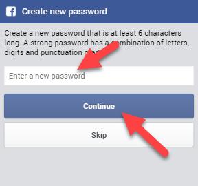 enter-password facebook password reset Freealls