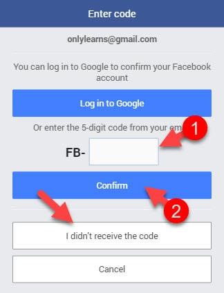 facebook-verification-code