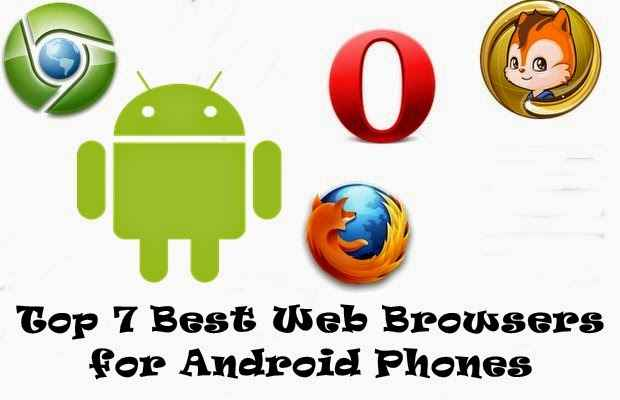 Best Web Browsers for Android Phones