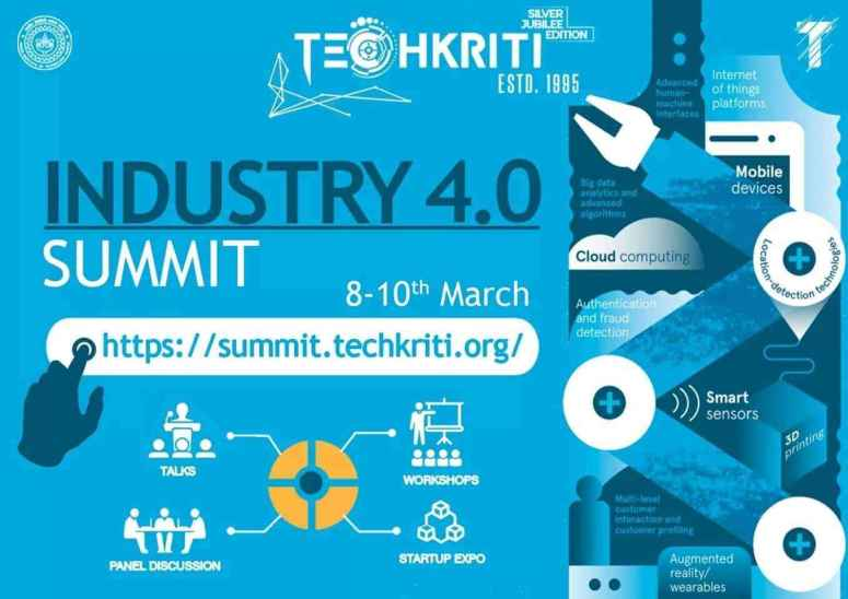 Celebrate the genesis of Industry 4.0 with Techkriti, IIT Kanpur