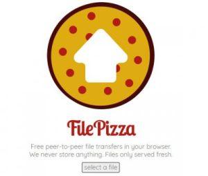 FilePizza,線上直接傳檔案給朋友。