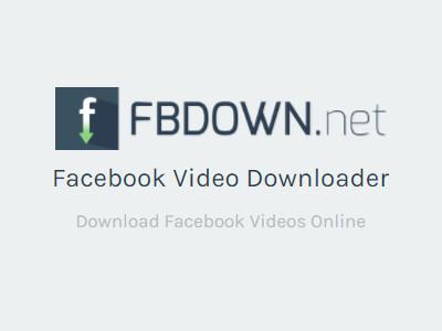 [線上工具]複製貼上就能下載FACEBOOK影片~FBDOWN