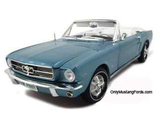 65 mustang diecast dynasty green convertible