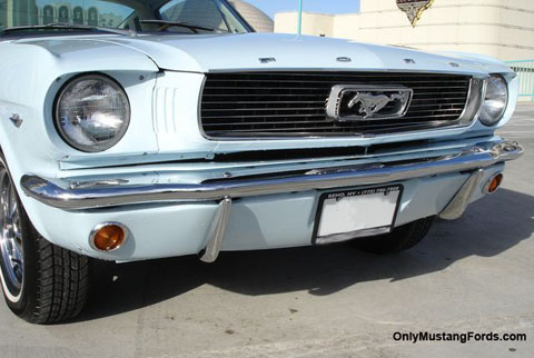 1966 ford mustang grille