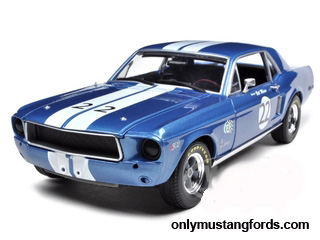 1968 Mustang Trans-Am race car model