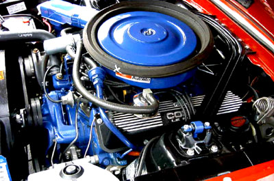 1968 mustang shelby gt500kr engine