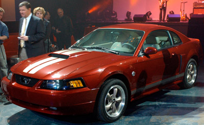 2004 Mustang 40th anniversary special
