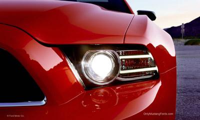 2013 mustang HID headlights