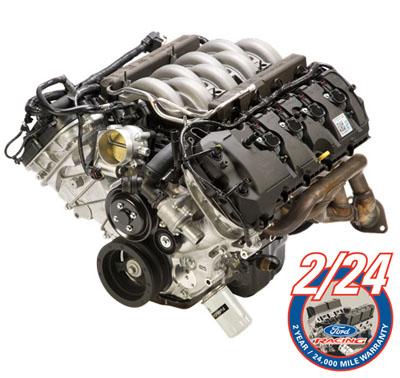 Mustang coyote engine 5.0 liter