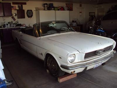 Joe's 1966 Mustang Convertible