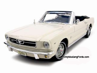65 mustang convertible diecast model