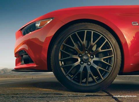 sixth generation Mustang wheels