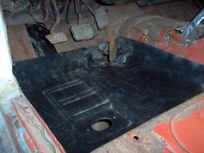 Mustang floor pan replacement