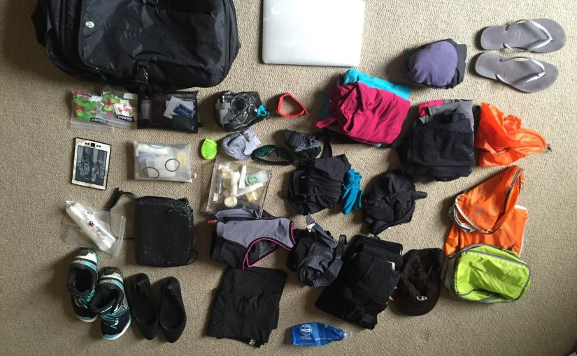 How to pack to travel the world with less than 5kg!
