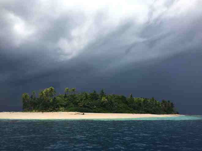 Marine Reserve - storm coming in