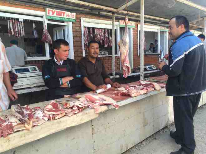 Why I don't eat much meat when travelling