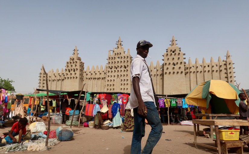 Mali – in the ancient town of Djenne