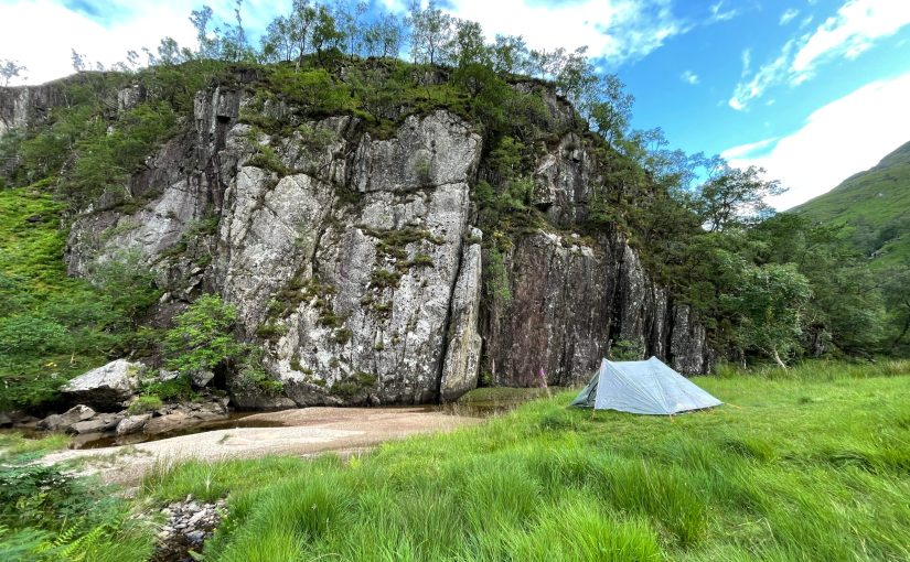 Meandering along the Cape wrath trail