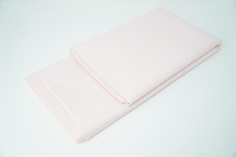 solid pink cotton face mask material