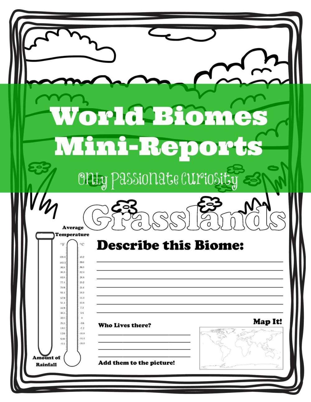 medium resolution of Biomes Worksheet 7th Grade   Printable Worksheets and Activities for  Teachers