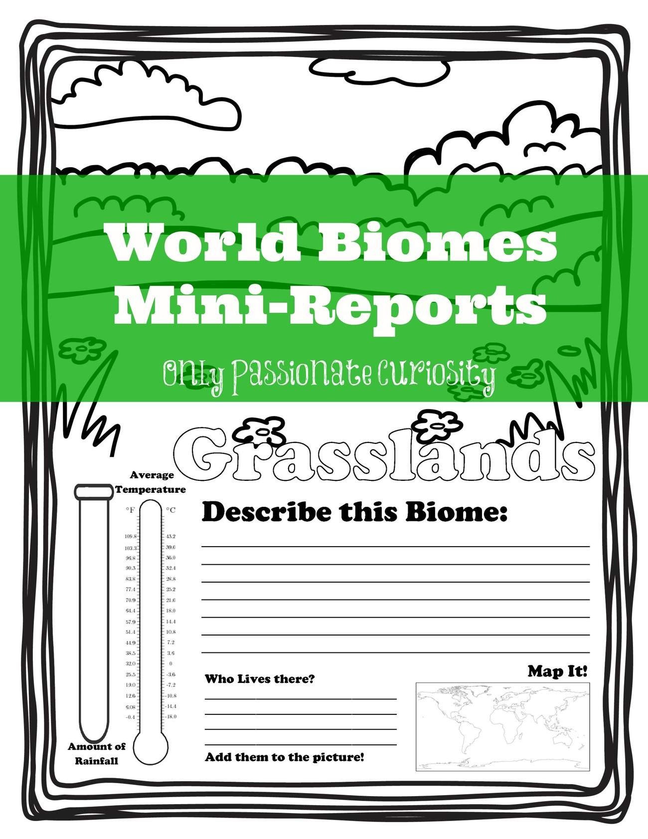 hight resolution of Biomes Worksheet 7th Grade   Printable Worksheets and Activities for  Teachers