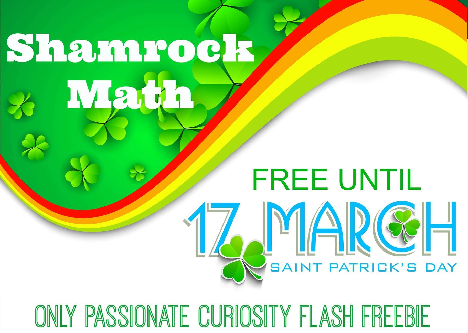 Happy Saint Patrick S Day Flash Freebie Only