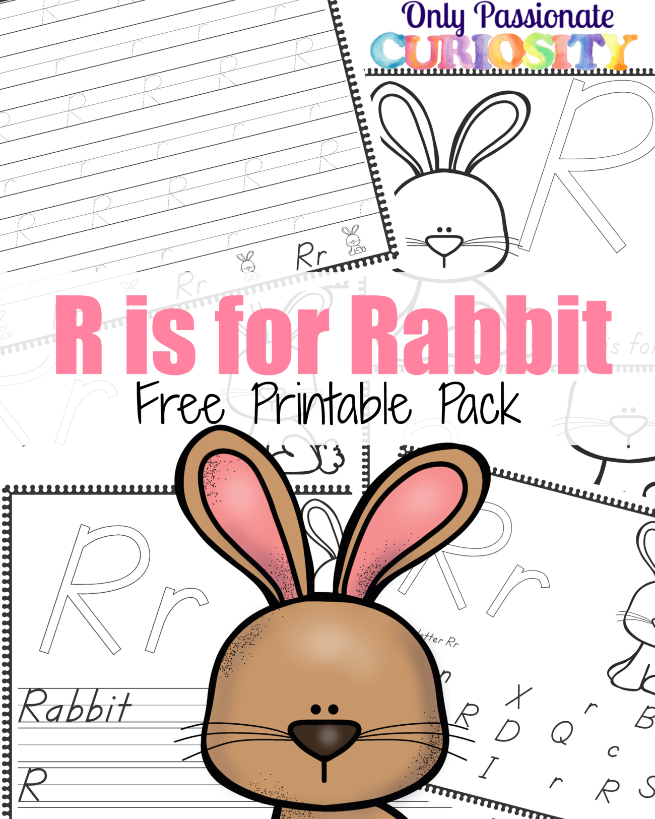 R Is For Rabbit Abcs For Me Only Passionate Curiosity