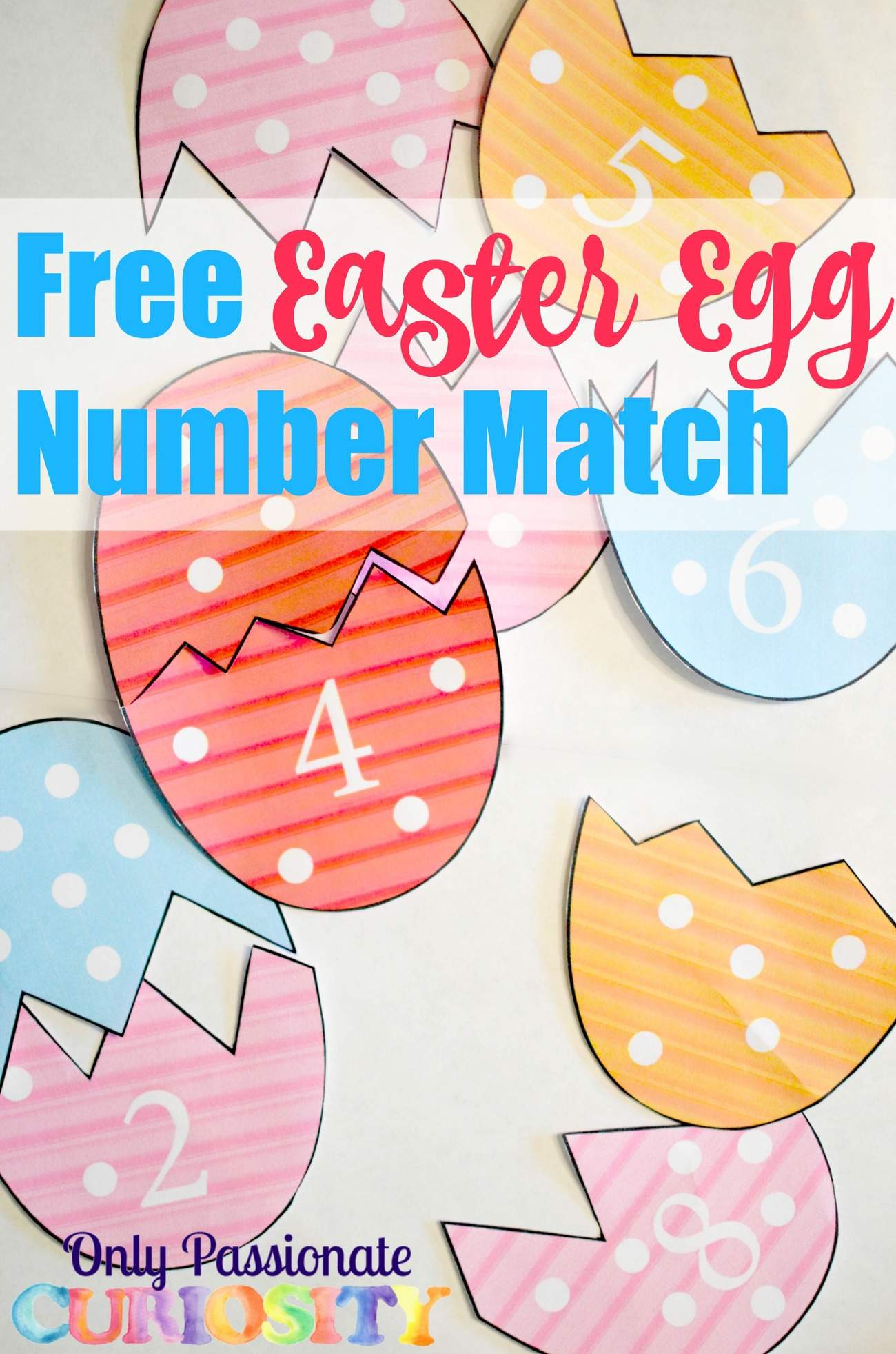Easter Egg Number Match Only Passionate Curiosity