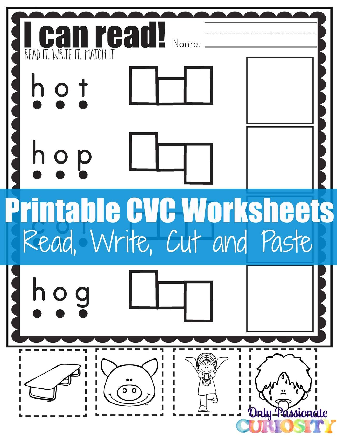 Cut And Paste Worksheet Free